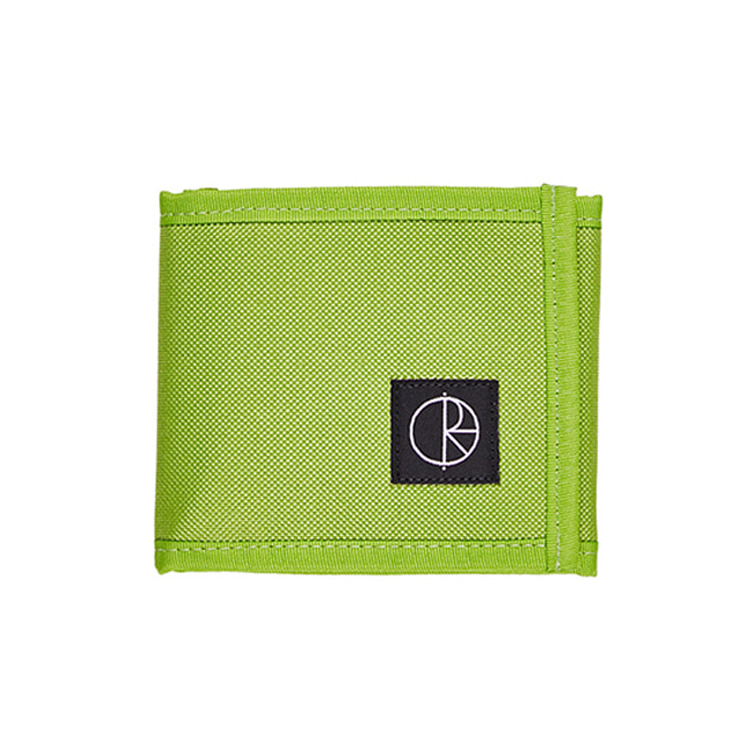 POLAR CORDURA WALLET - LIME