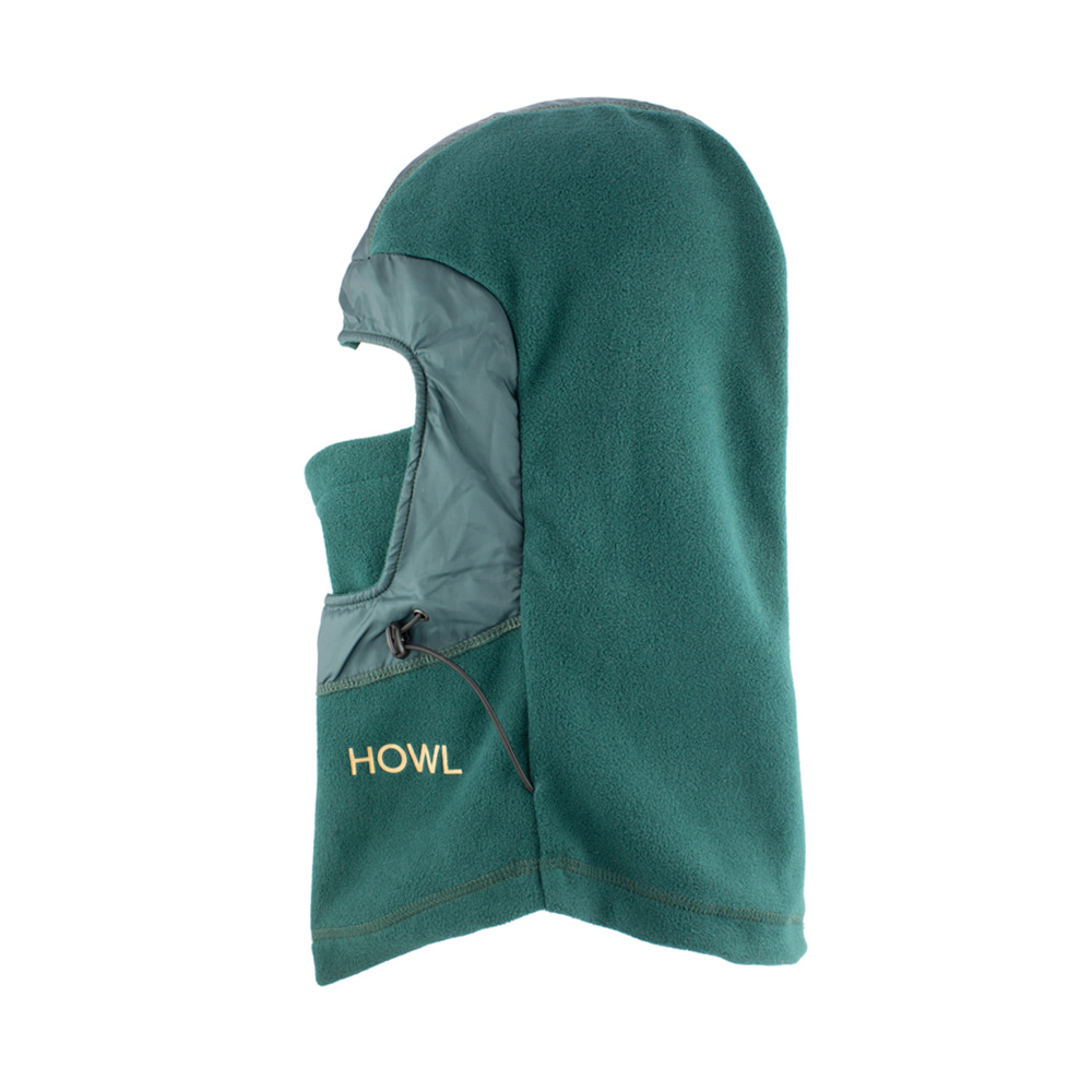 HOWL SUPPLY  STORMY FACEMASK GREEN