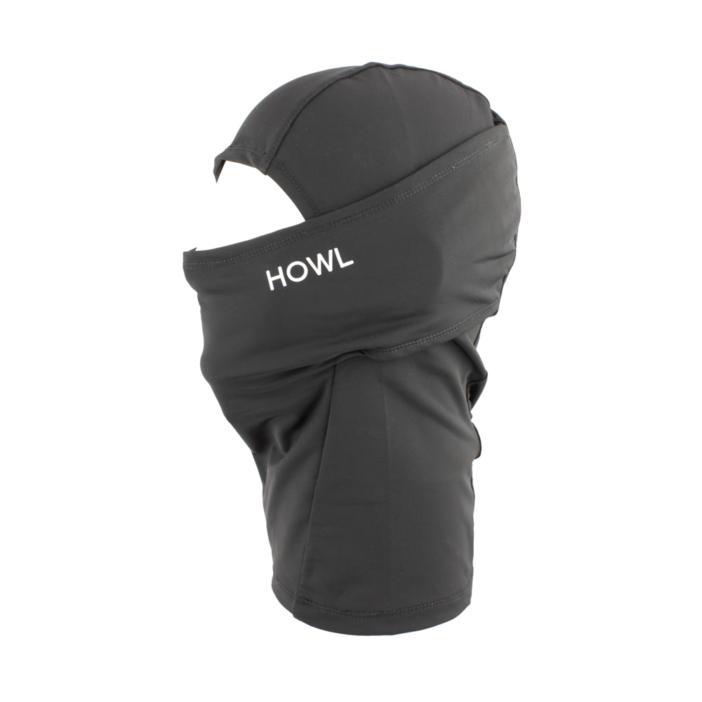 HOWL SUPPLY  LEGACY FACEMASK BLACK