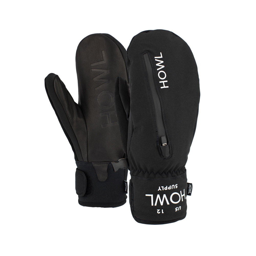 HOWL SUPPLY  POCKET MITT BLACK