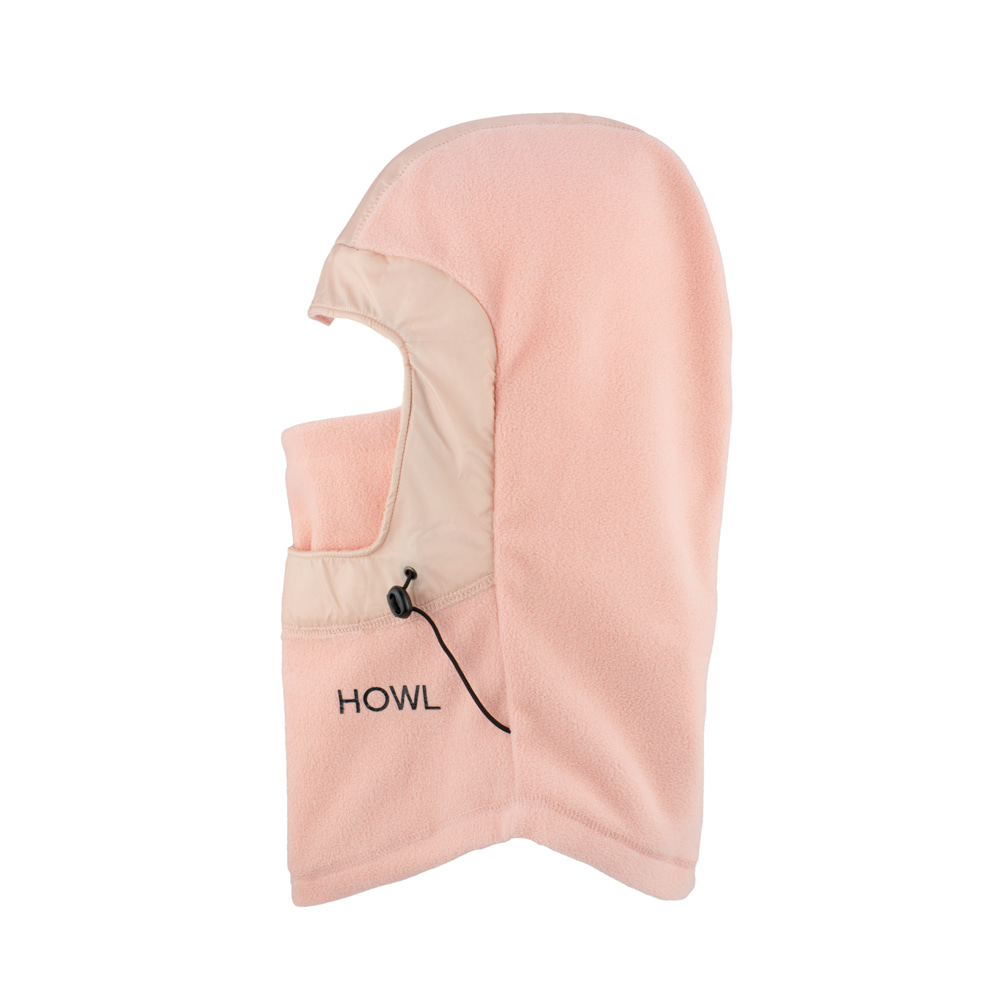 HOWL SUPPLY  STORMY FACEMASK PINK
