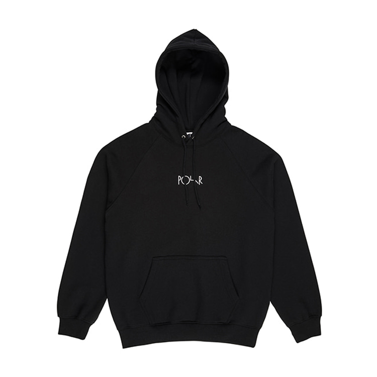 POLAR DEFAULT HOOD - BLACK [WINTER 19]