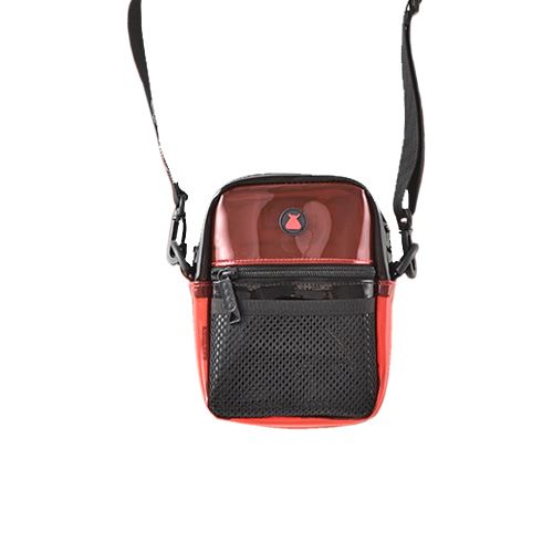 BUMBAG KEVIN BRADLEY COMPACT SHOULDER BAG - RED