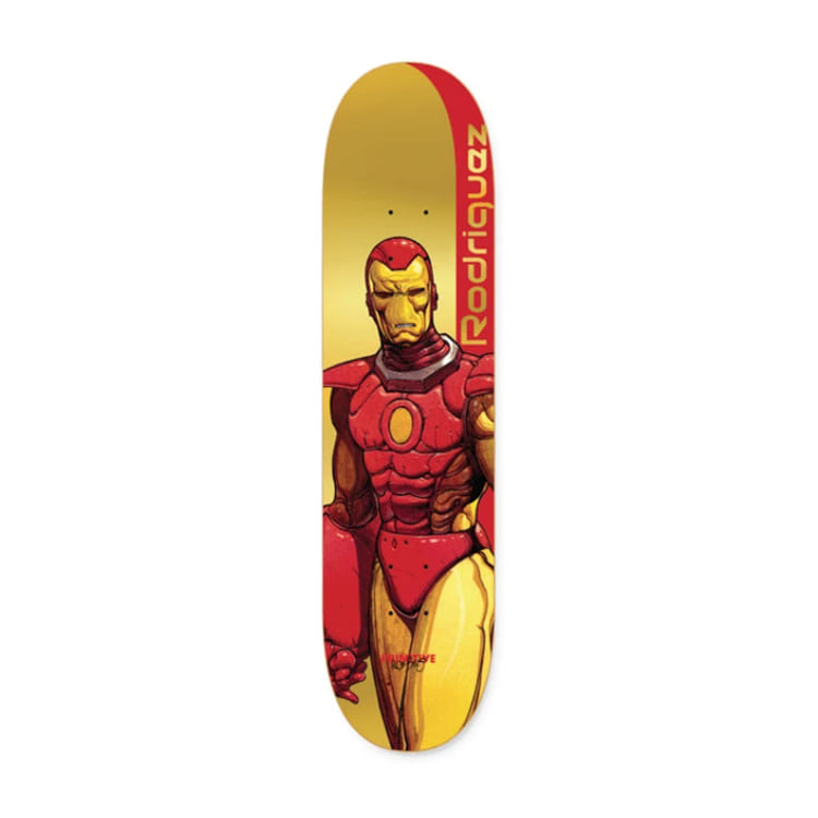 PRIMITIVE PAUL RODRIGUEZ IRON MAN DECK 8.125