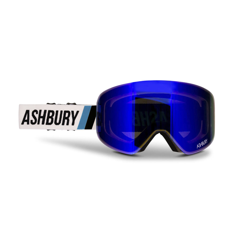 ASHBURY [MAGNETIC] HORNET FORMULA: Silver mirror lens + Clear lens