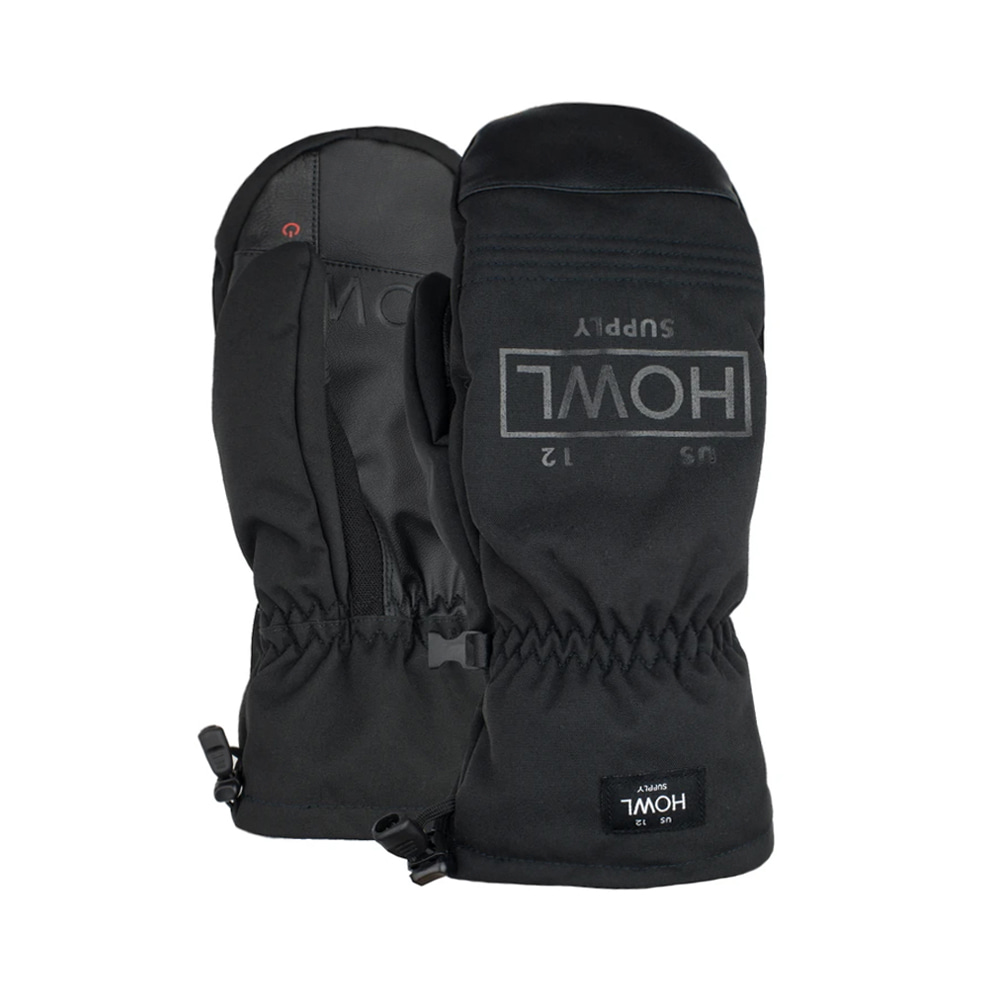 HOWL SUPPLY  TEAM MITT BLACK