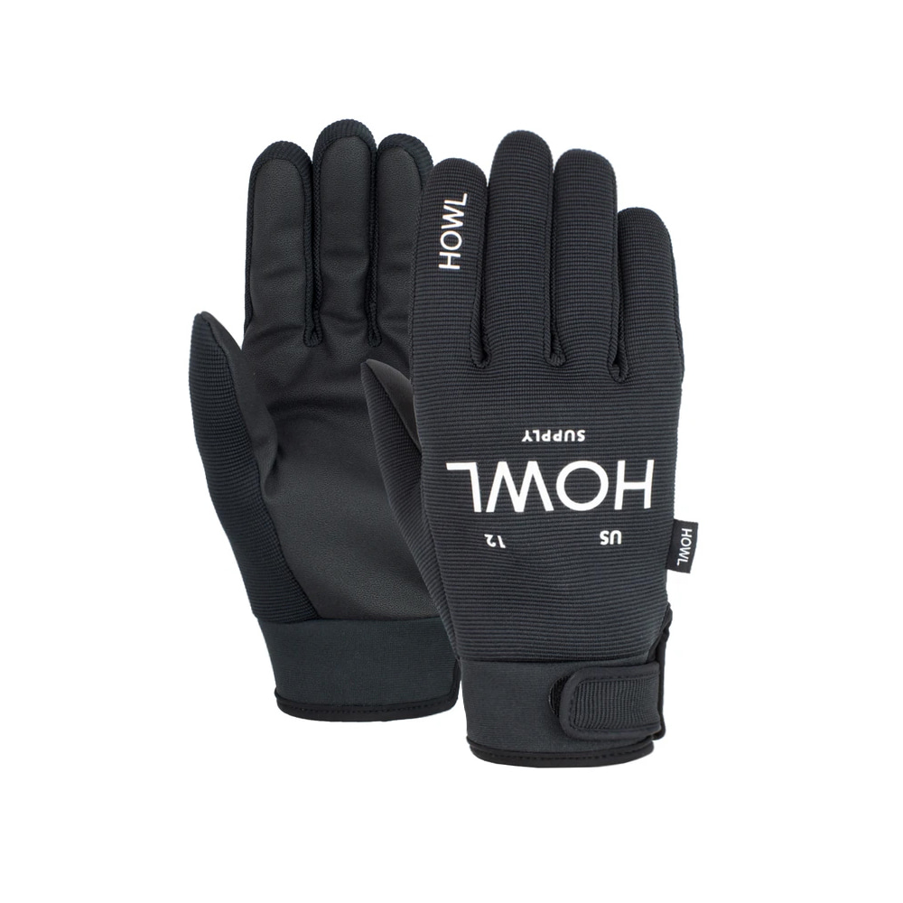 HOWL SUPPLY  JEEPSTER GLOVE BLACK