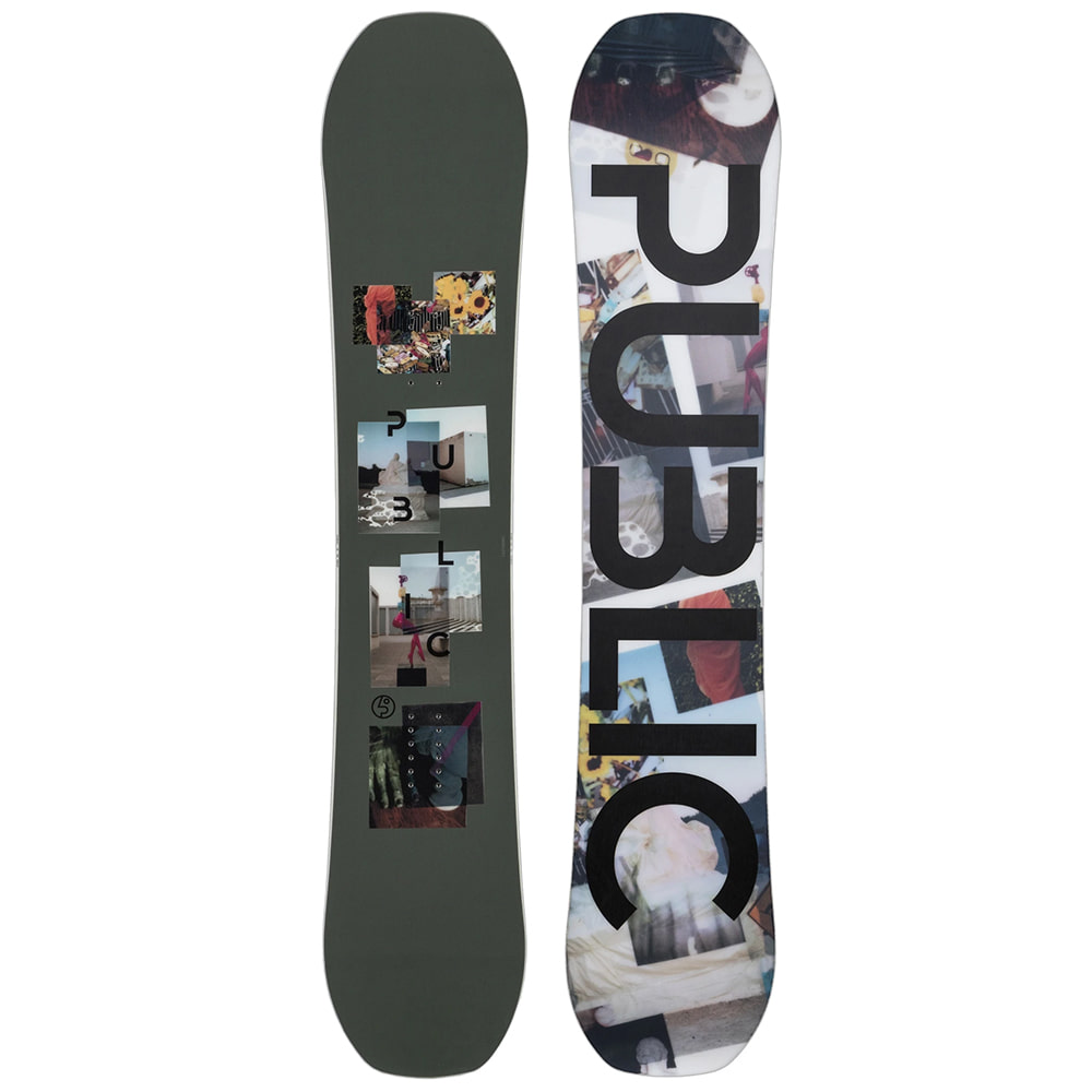 "PUBLIC SNOWBOARDS DISPLAY 153 - ""MATHES"" PRO"