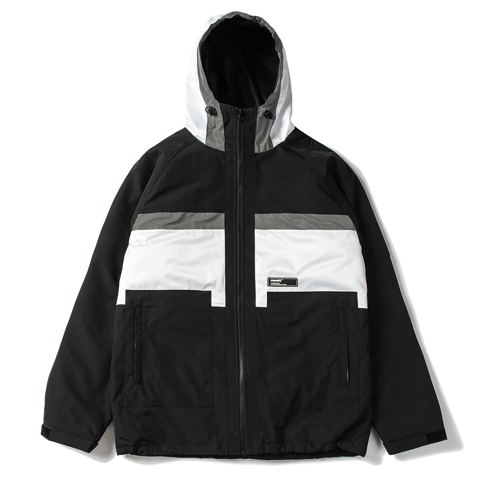 BSRABBIT B SHINE JACKET BLACK