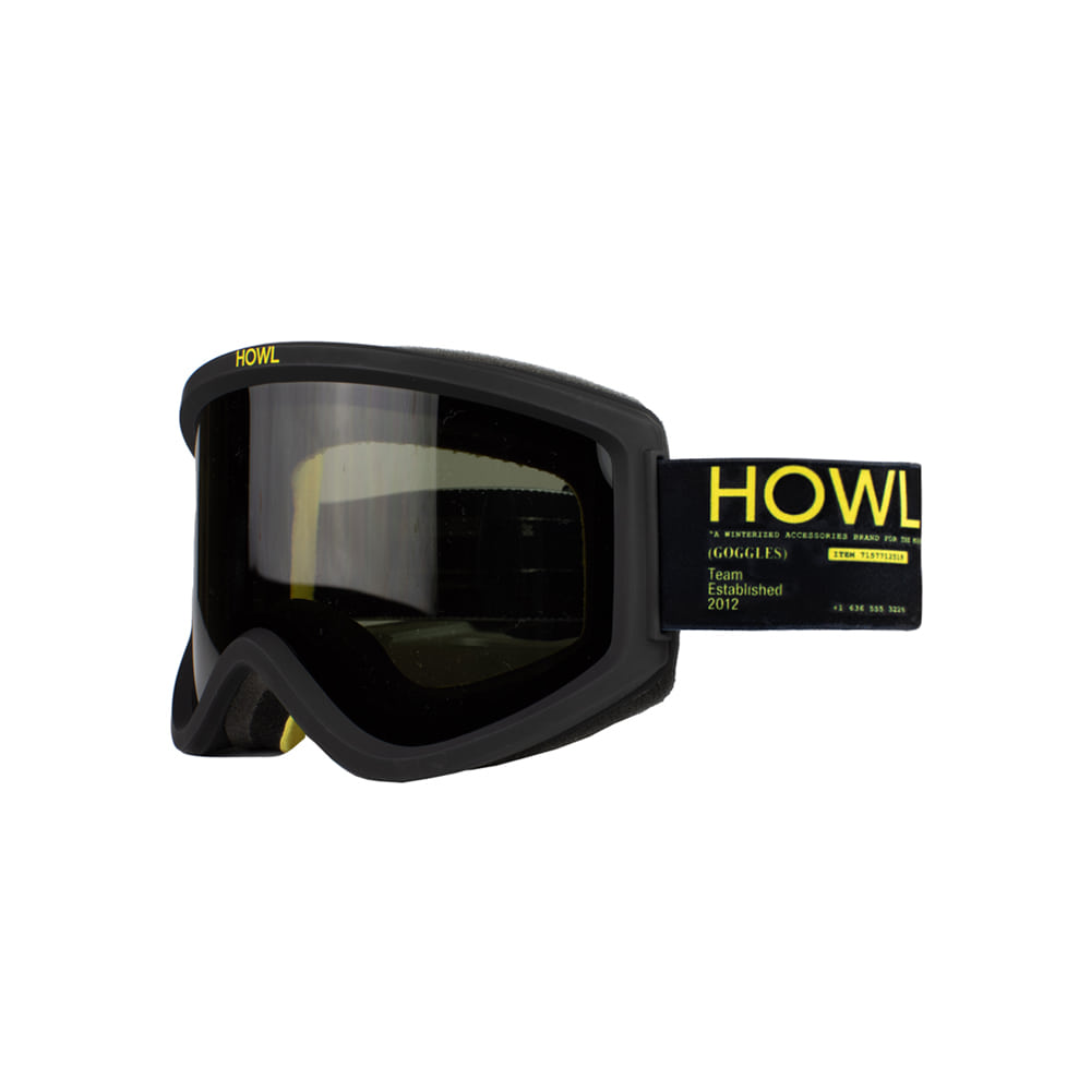 HOWL SUPPLY [CLASSIC] ODYSSEY GOOGLE BLACK: Black lens + Bonus Rose lens