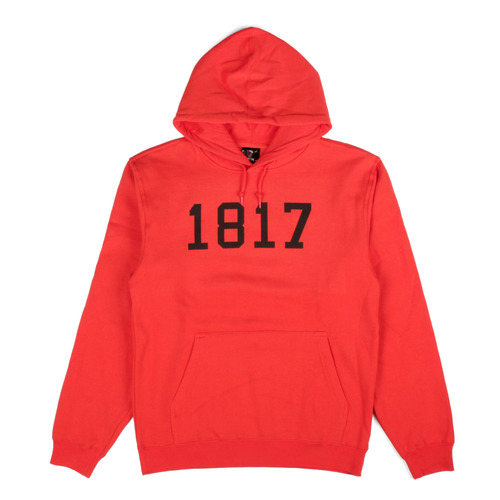 1817 DROPOUT PULLOVER HOODIE ORANGE