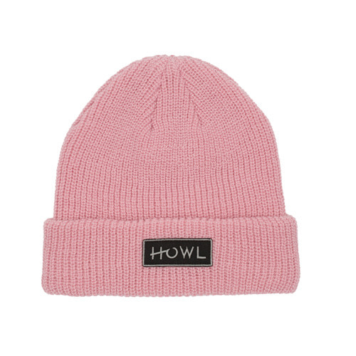 HOWL SUPPLY GASOLINE BEANIE PINK