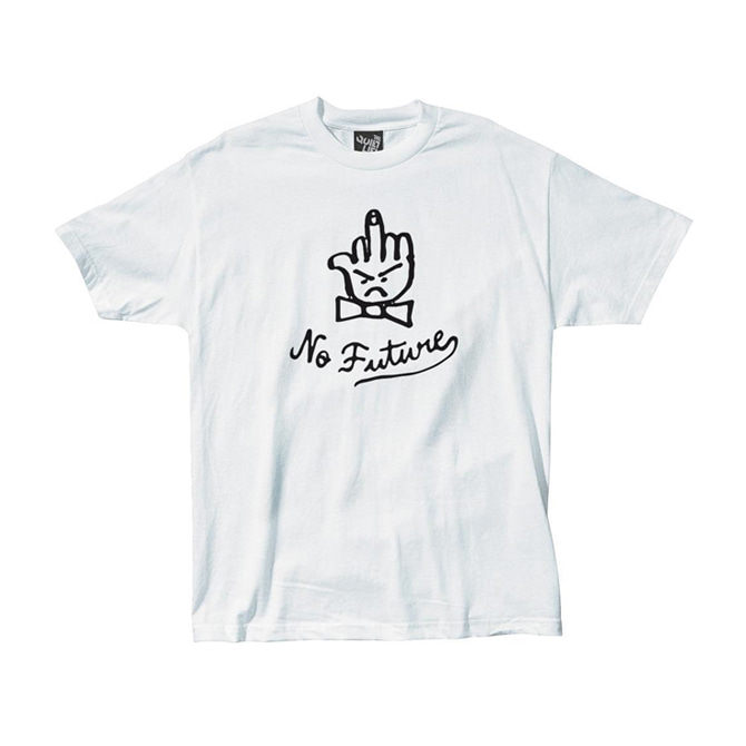 QUIET LIFE NO FUTURE TEE - WHITE
