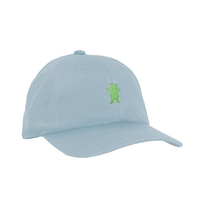 GRIZZLY OG BEAR STRAPBACK - BABY/NEON