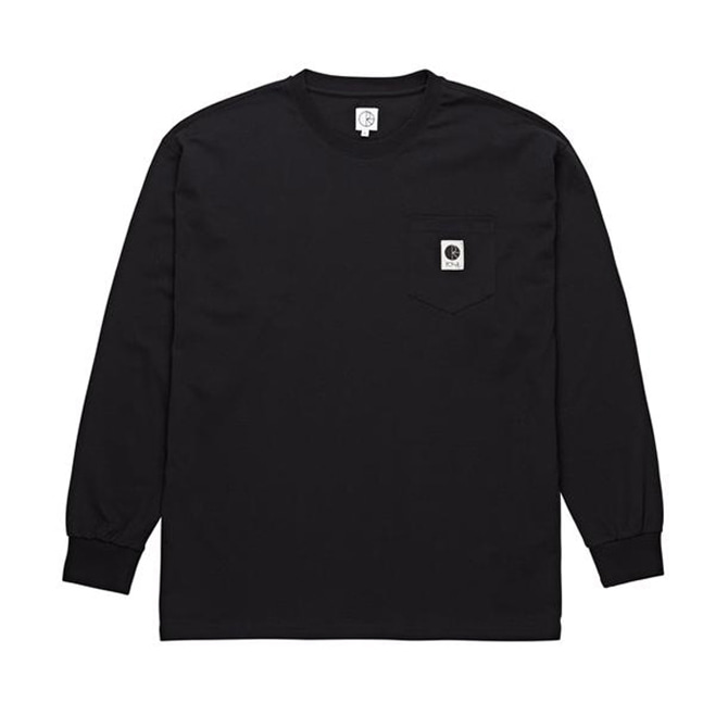 POLAR POCKET LONGSLEEVE - BLACK