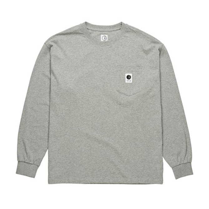 POLAR POCKET LONGSLEEVE - HEATHER GREY