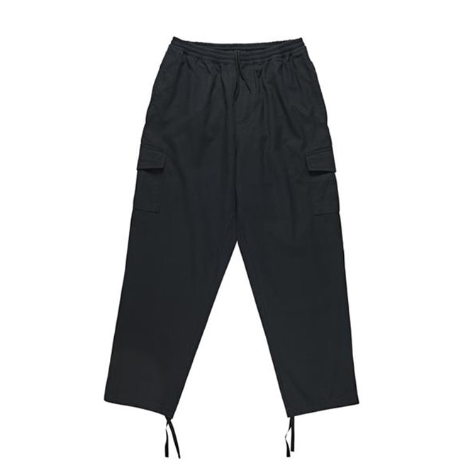 POLAR CARGO PANTS - BLACK