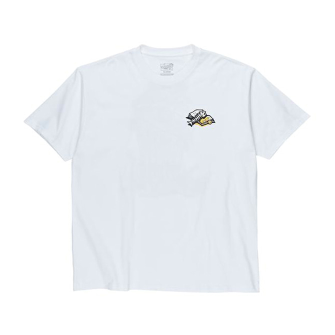 POLAR TRASHCAN TEE - WHITE