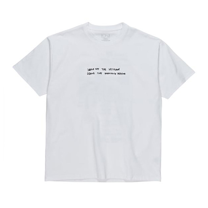 POLAR STRONGEST NOTES TEE - WHITE
