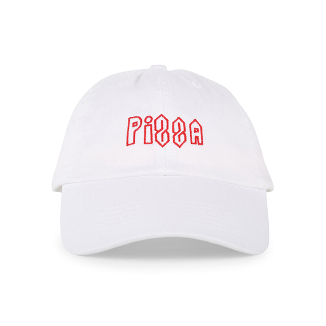 PIZZA SCOOL HAT - WHITE