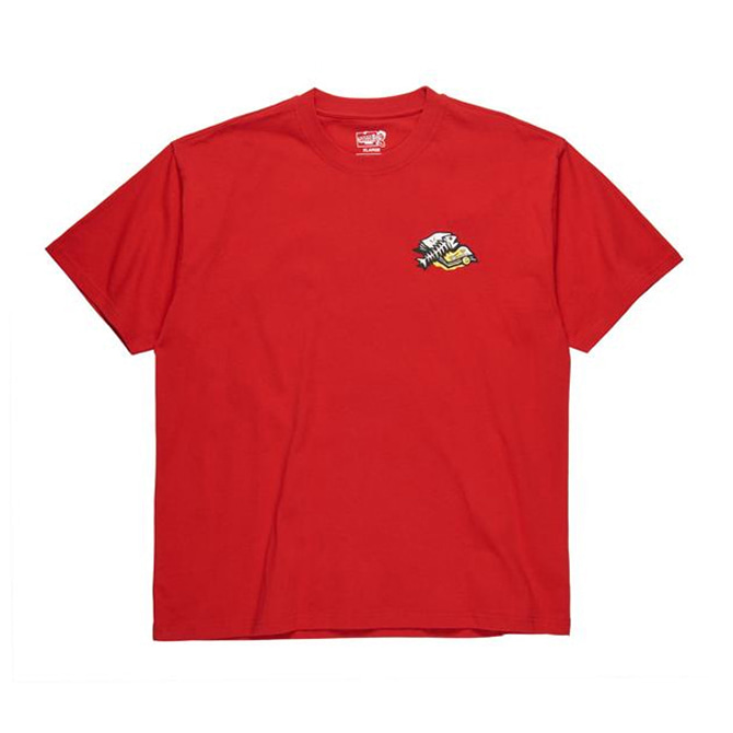 POLAR TRASHCAN TEE - RED