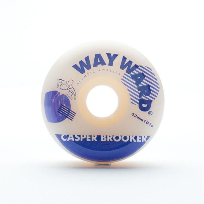 WAYWARD HURDLE WHEEL - CASPER BROOKER 53MM