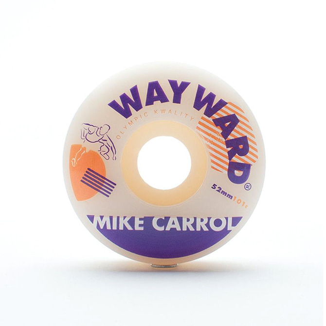WAYWARD HURDLE WHEEL - MIKE CARROLL 52MM