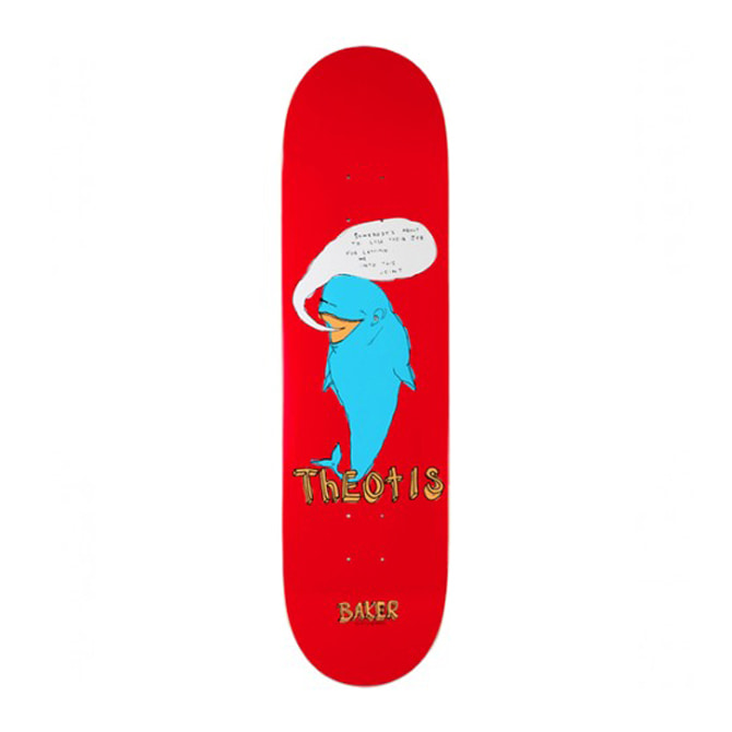 BAKER TB FISH TALK DECK 8.25