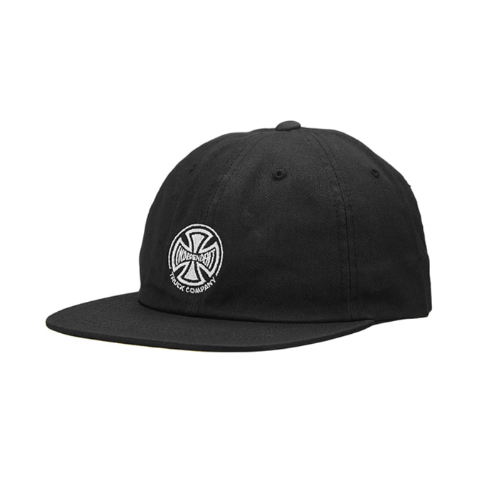 INDEPENDENT TRUCK CO. EMBROIDERY SNAPBACK - BLACK