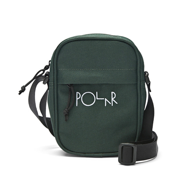 POLAR CORDURA MINI DEALER BAG - DARK GREEN  [SU19]