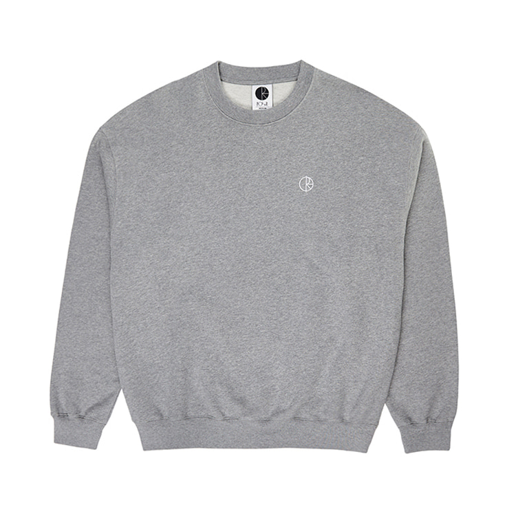 POLAR TEAM CREWNECK - HEATHER GREY