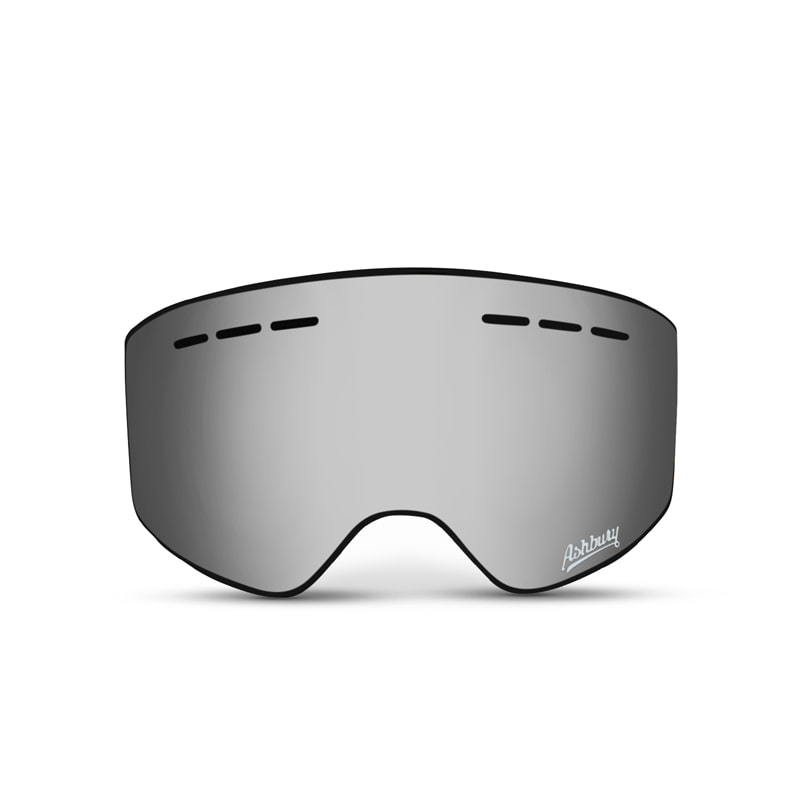 ASHBURY MIRAGE SILVER MIRROR LENS
