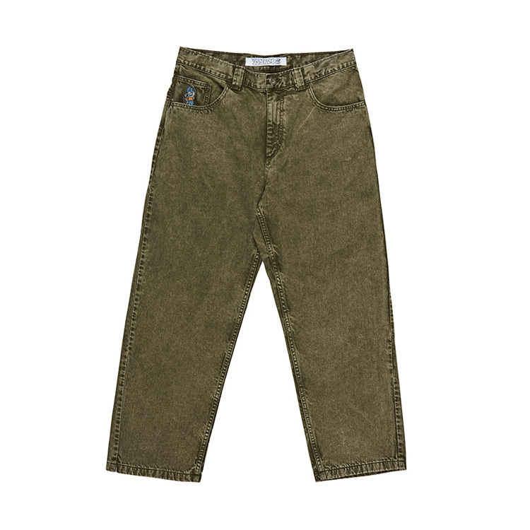 POLAR 93 DENIM - ARMY GREEN [FALL19]