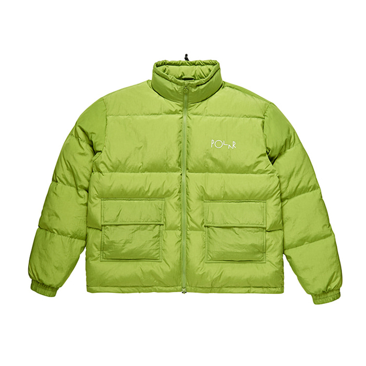POLAR POCKET PUFFER - PARROT GREEN