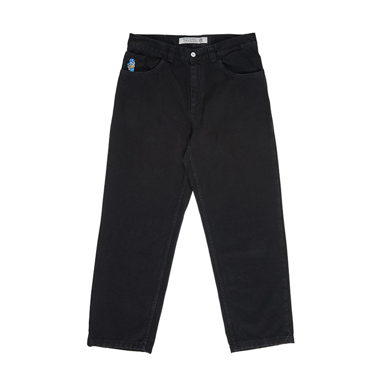 POLAR 93 DENIM - PITCH BLACK [FALL19]
