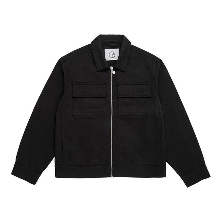 POLAR TWILL JACKET - BLACK