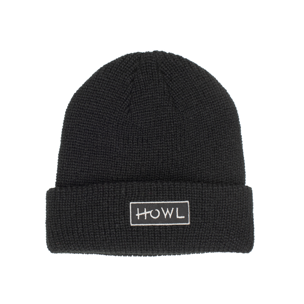 HOWL SUPPLY  GASOLINE BEANIE BLACK