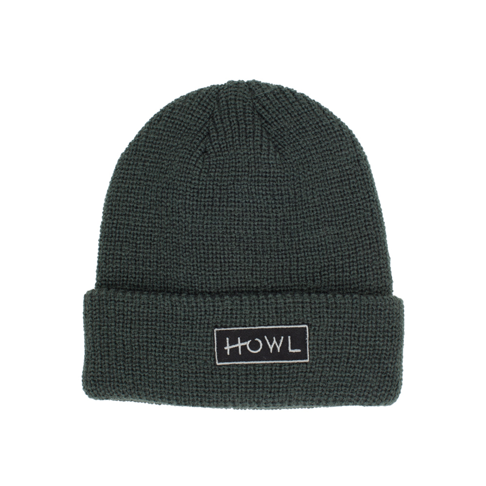 HOWL SUPPLY  GASOLINE BEANIE GREEN