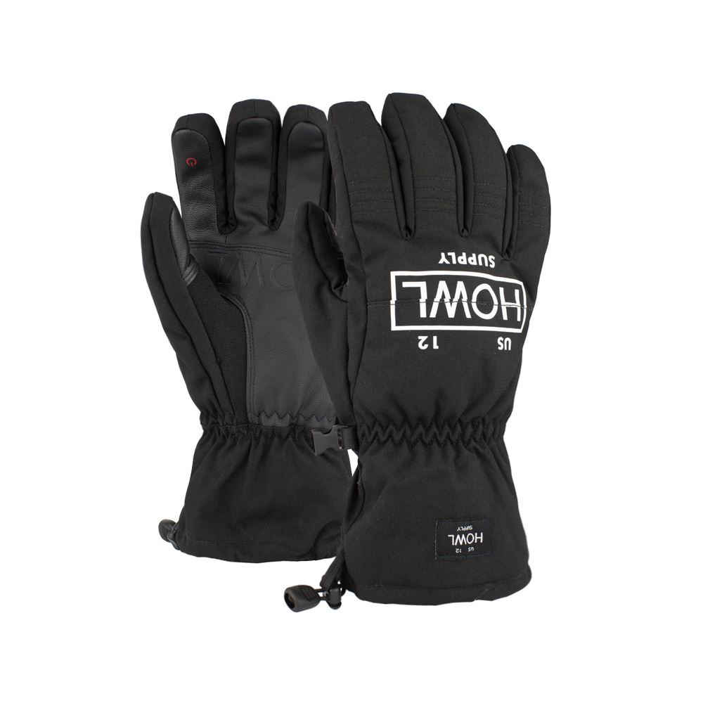 HOWL SUPPLY  TEAM GLOVE BLACK