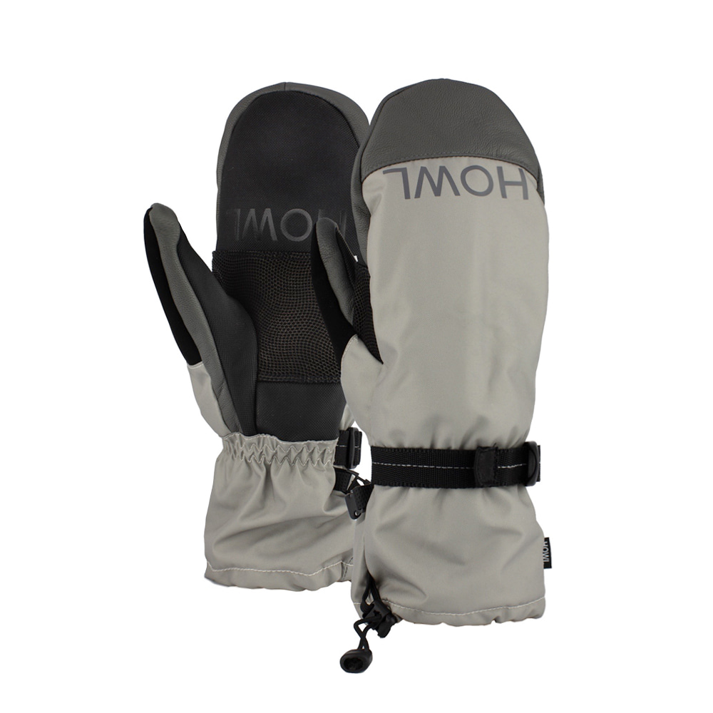 HOWL SUPPLY  NETWORK MITT GREY
