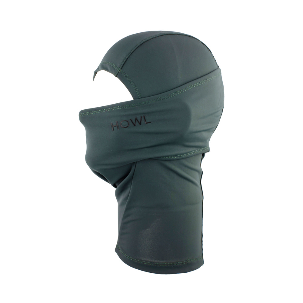 HOWL SUPPLY  LEGACY FACEMASK GREEN
