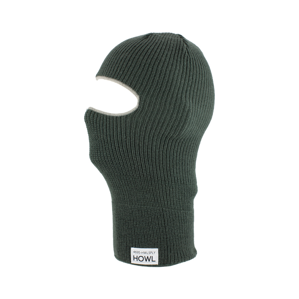 HOWL SUPPLY  BURGLAR FACEMASK GREEN