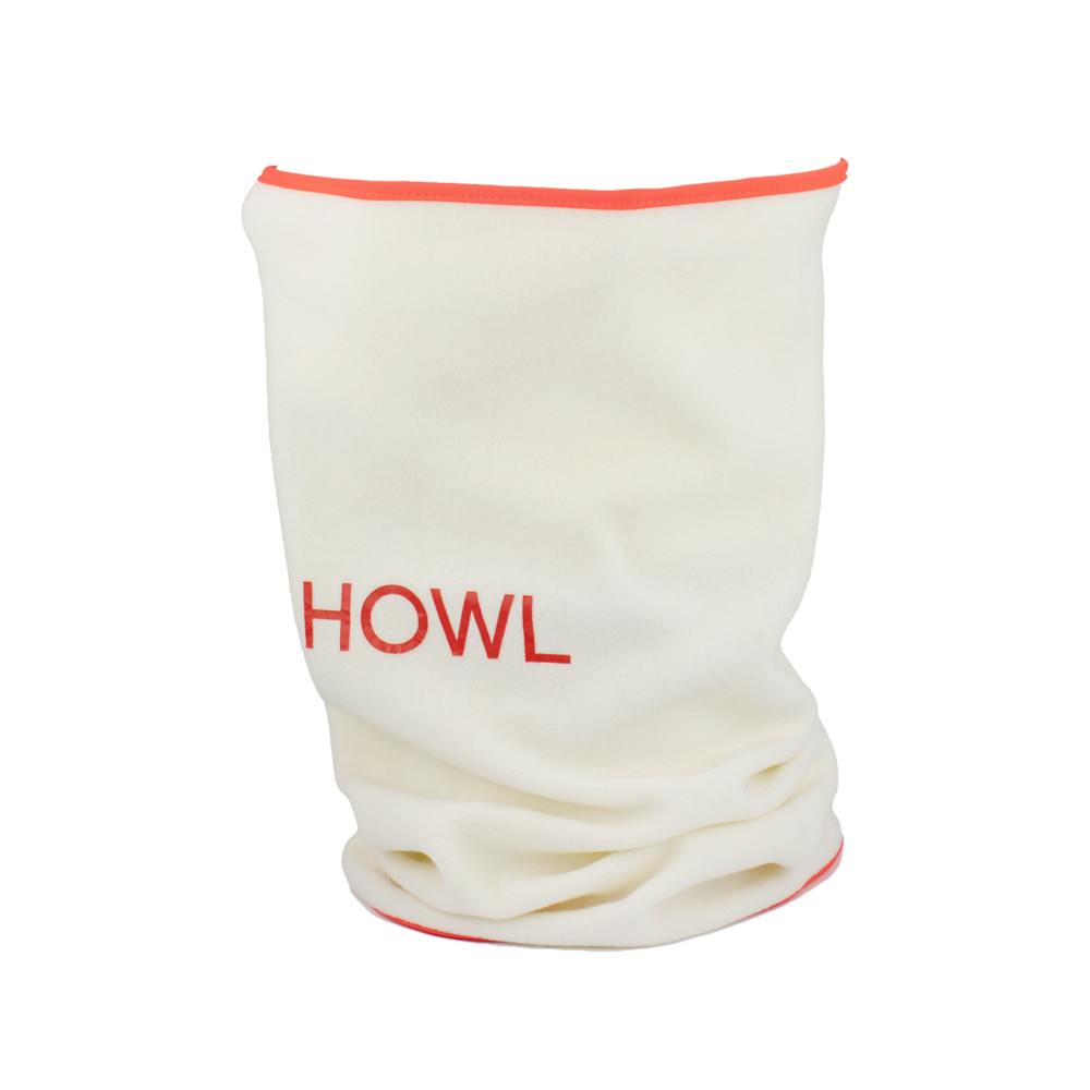 HOWL SUPPLY  SHADE FACEMASK WHITE