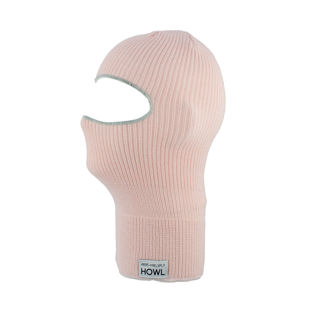 HOWL SUPPLY  BURGLAR FACEMASK PINK