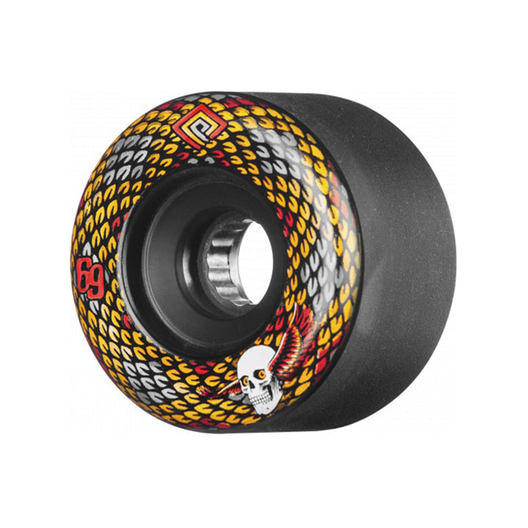 POWELL PERALTA SNAKES WHEELS BALCK 69MM 75A