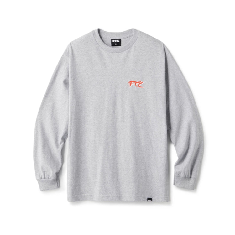 FTC KUNG FU ACTION THEATRE L/S TEE - GRAY