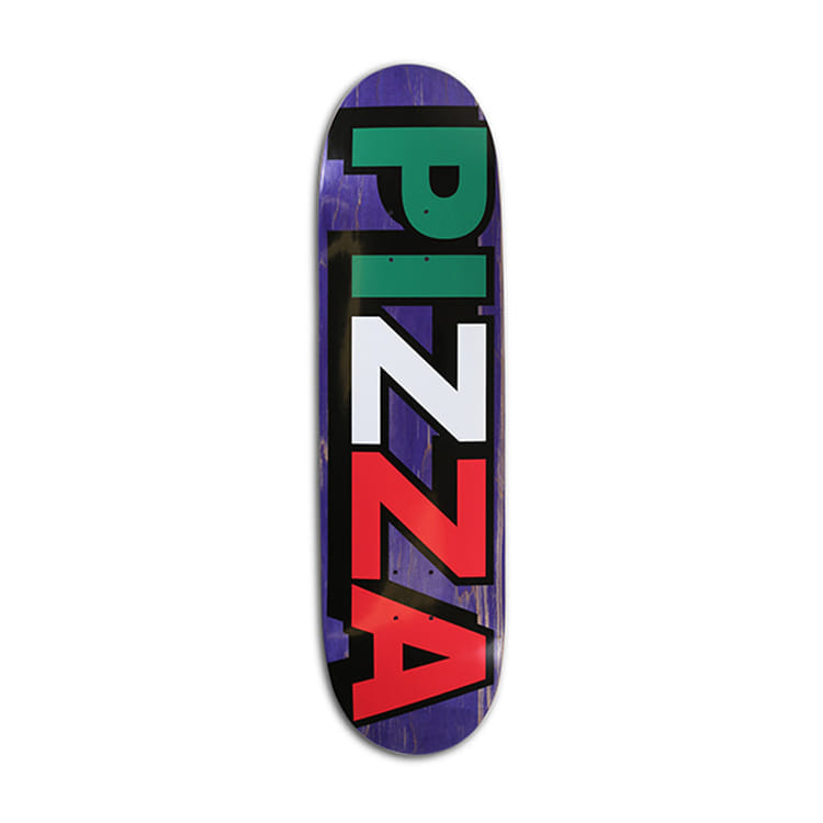 PIZZA TRI LOGO DECK 8.375 (FOOTBALL SHAPE)