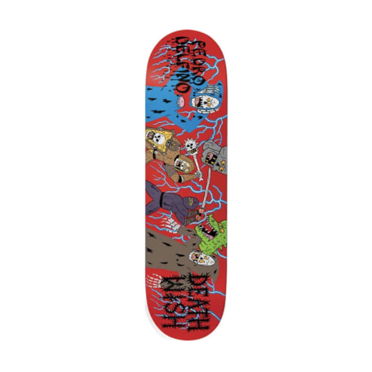 DEATHWISH DELFINO REVENGE OF THE NINJA DECK 8.25