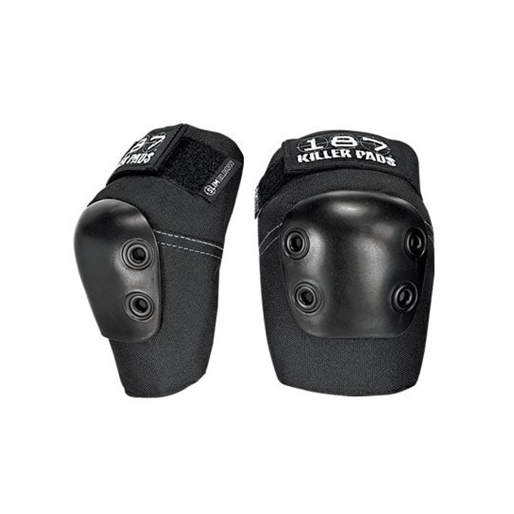 187 KILLER PADS SLIM ELBOW - BLACK
