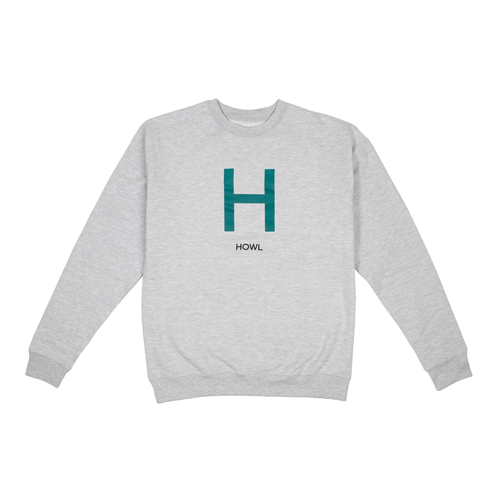 HOWL SUPPLY  H CREW GREY